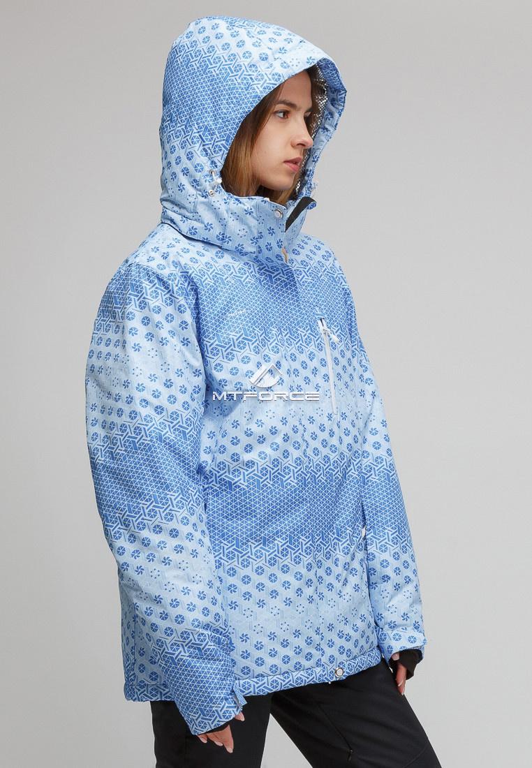0ed96833 Купить Костюм горнолыжный женский большого размера голубого цвета 01830Gl.  ДРУГИЕ ЦВЕТА ЭТОГО ТОВАРА