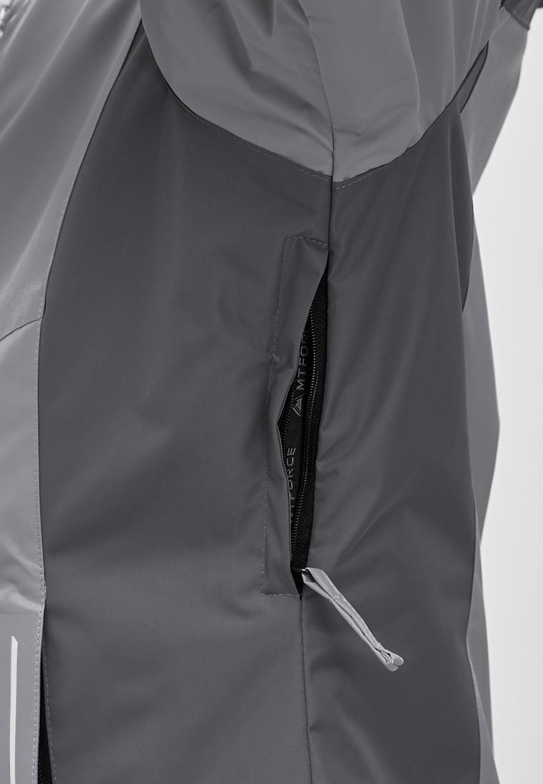 e143c636 Купить Женский зимний горнолыжный костюм большого размера серого цвета  01850Sr. ДРУГИЕ ЦВЕТА ЭТОГО ТОВАРА