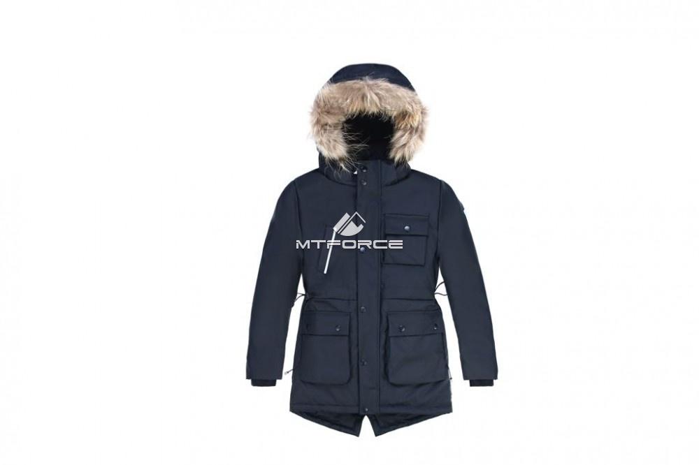 391a13eeabe Купить Куртка парка зимняя подростковая для мальчика черного цвета 8833Ch.  ДРУГИЕ ЦВЕТА ЭТОГО ТОВАРА