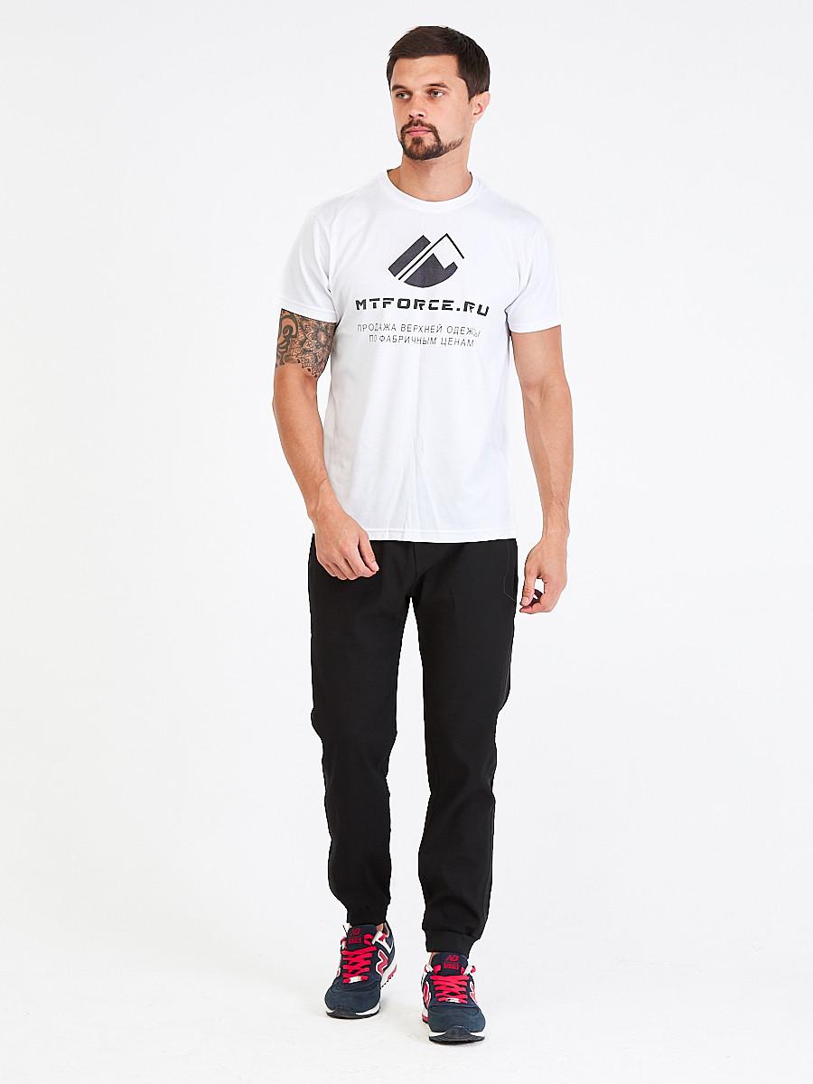 Купить Брюки мужские повседневные черного цвета 00816Ch