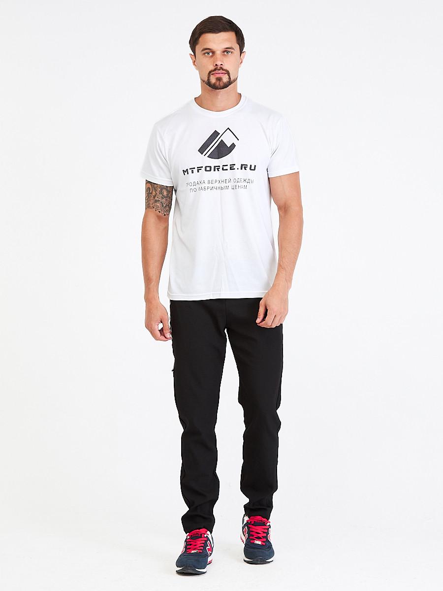 Купить Брюки мужские повседневные черного цвета 00818Ch