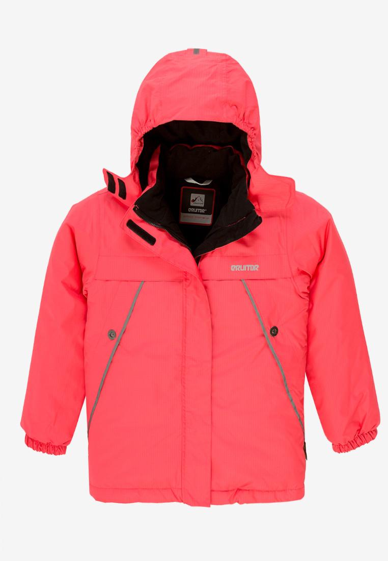 Купить Куртка демисезонная подростковая для девочки розового цвета 016-2R