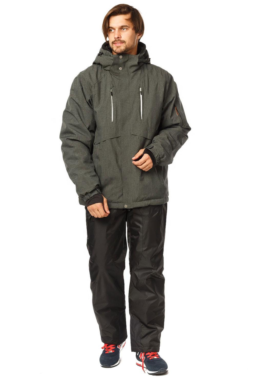 Купить Костюм горнолыжный мужской цвета хаки 01768Kh