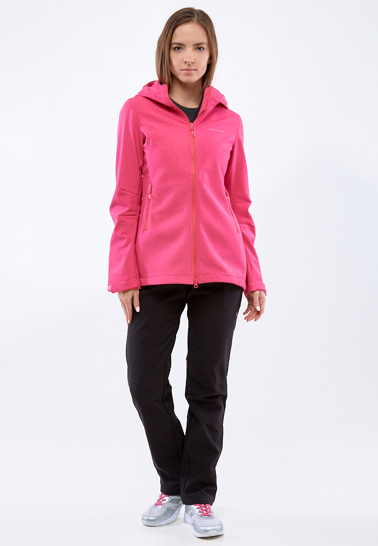 Купить Костюм женский softshell малиновго цвета 01816-1M