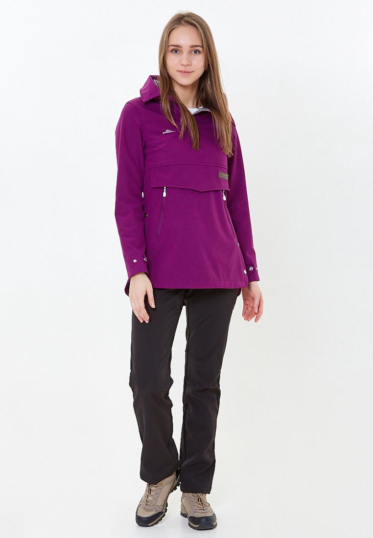 Купить Костюм анорак женский softshell фиолетового цвета 01914F