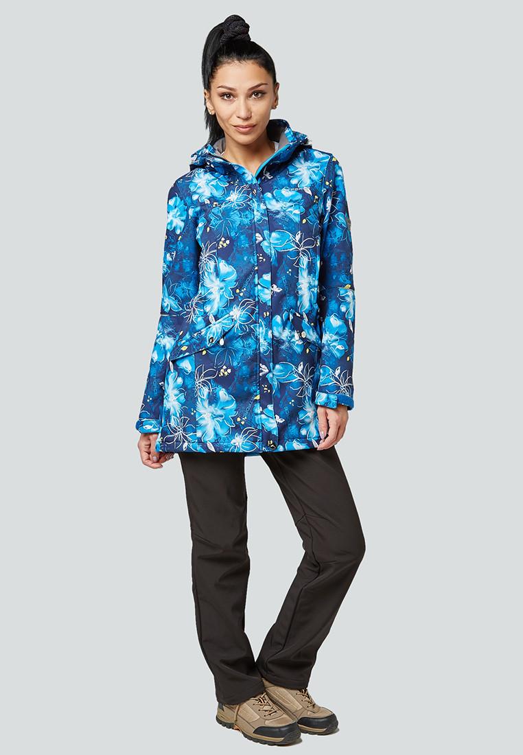 Купить Костюм женский softshell синего цвета 01922-2S