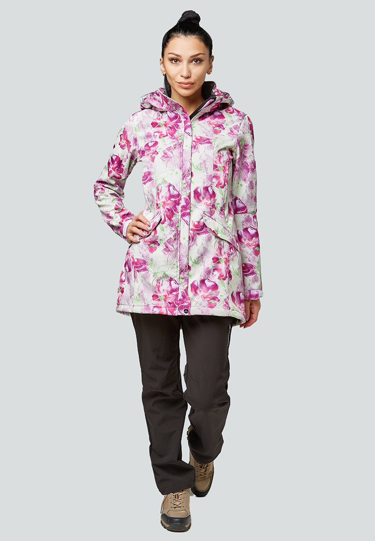 Купить Костюм женский softshell розового цвета 01922-2R