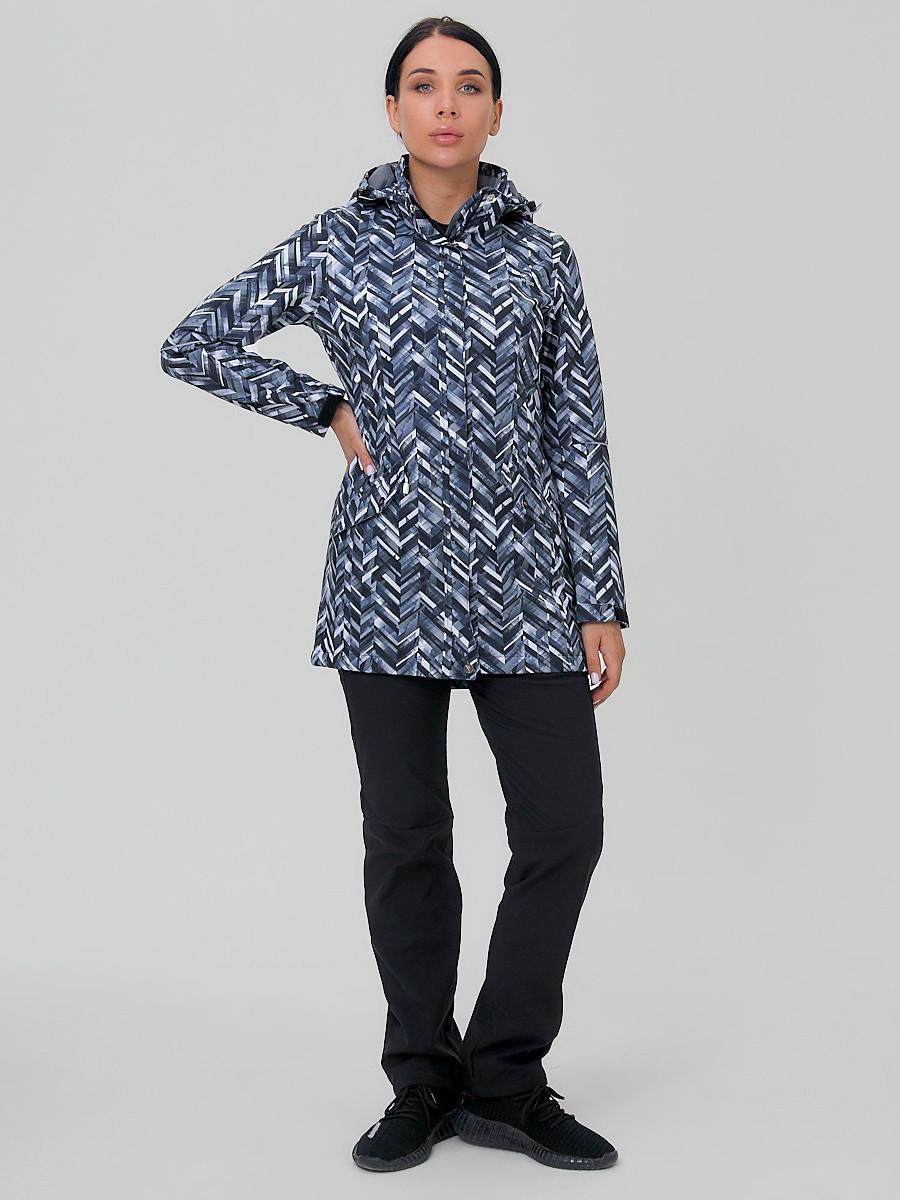 Купить Костюм женский softshell темно-серого цвета 019221TC