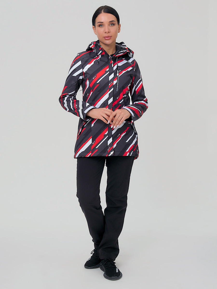 Купить Костюм женский softshell красного цвета 01923-1Kr