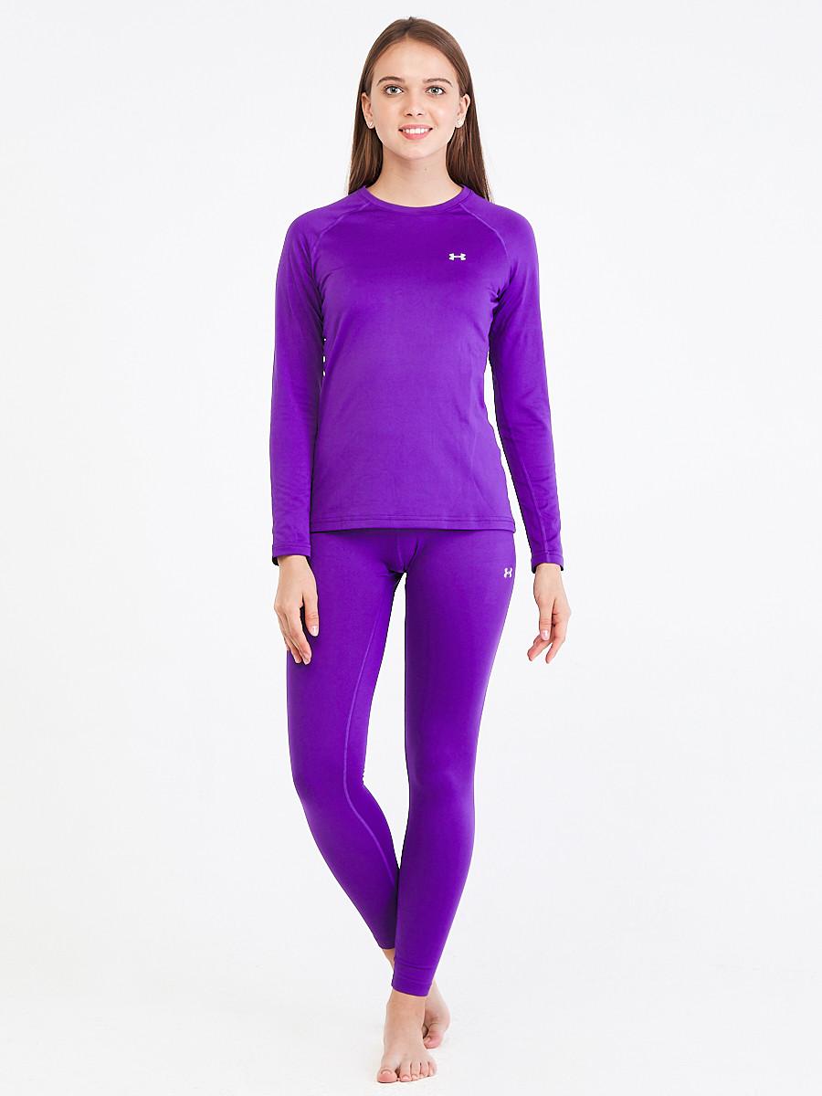 Купить Термобелье женское фиолетового цвета 08932F