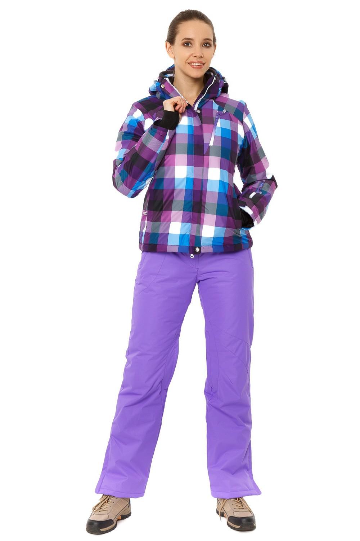 Купить Костюм горнолыжный женский фиолетового цвета 01807F
