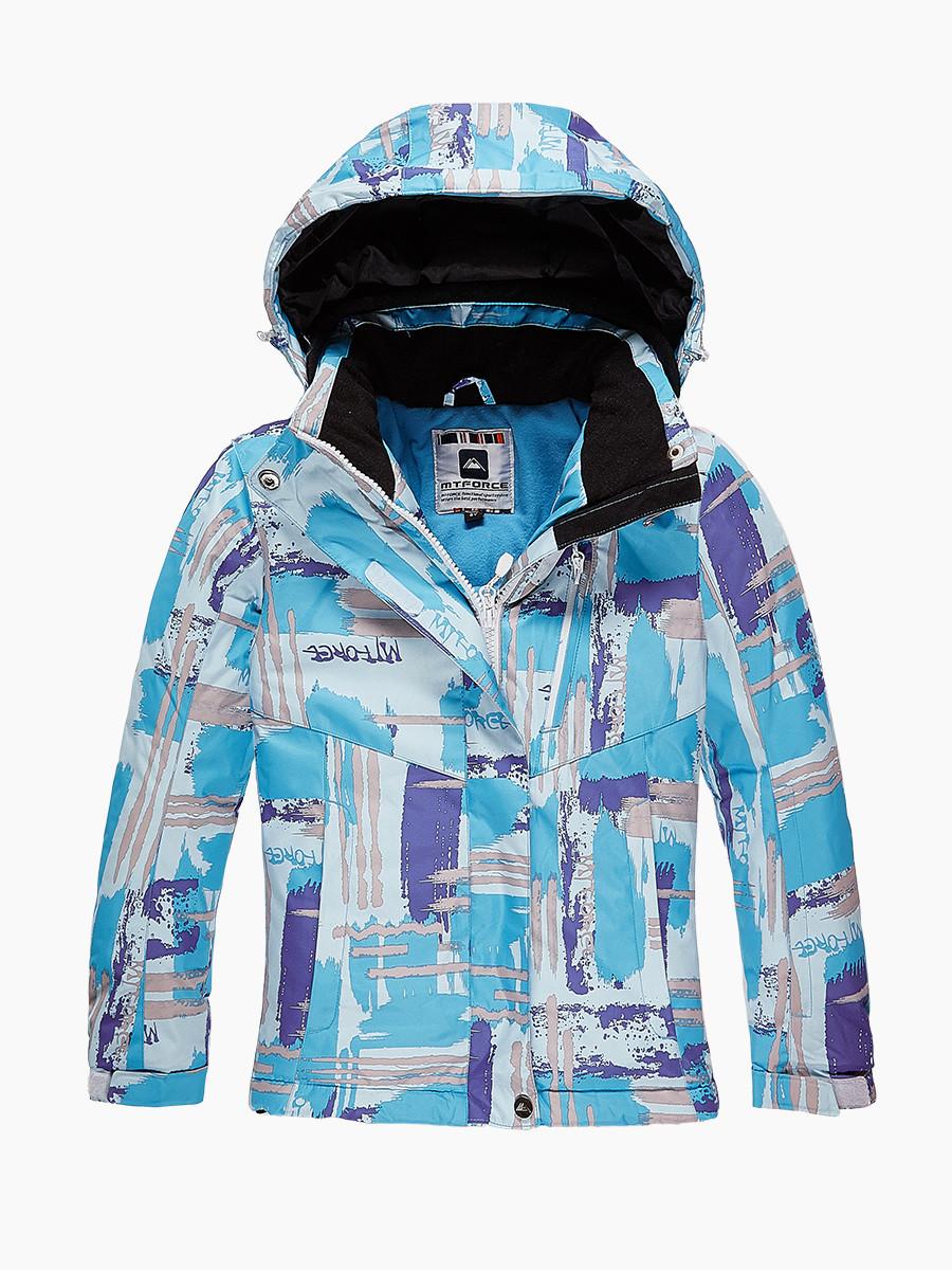 Купить Куртка горнолыжная подростковая для девочки голубого цвета 1774Gl