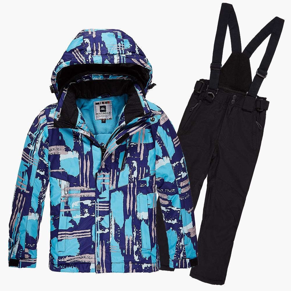 Купить Костюм горнолыжный для девочки голубого цвета 01773Gl