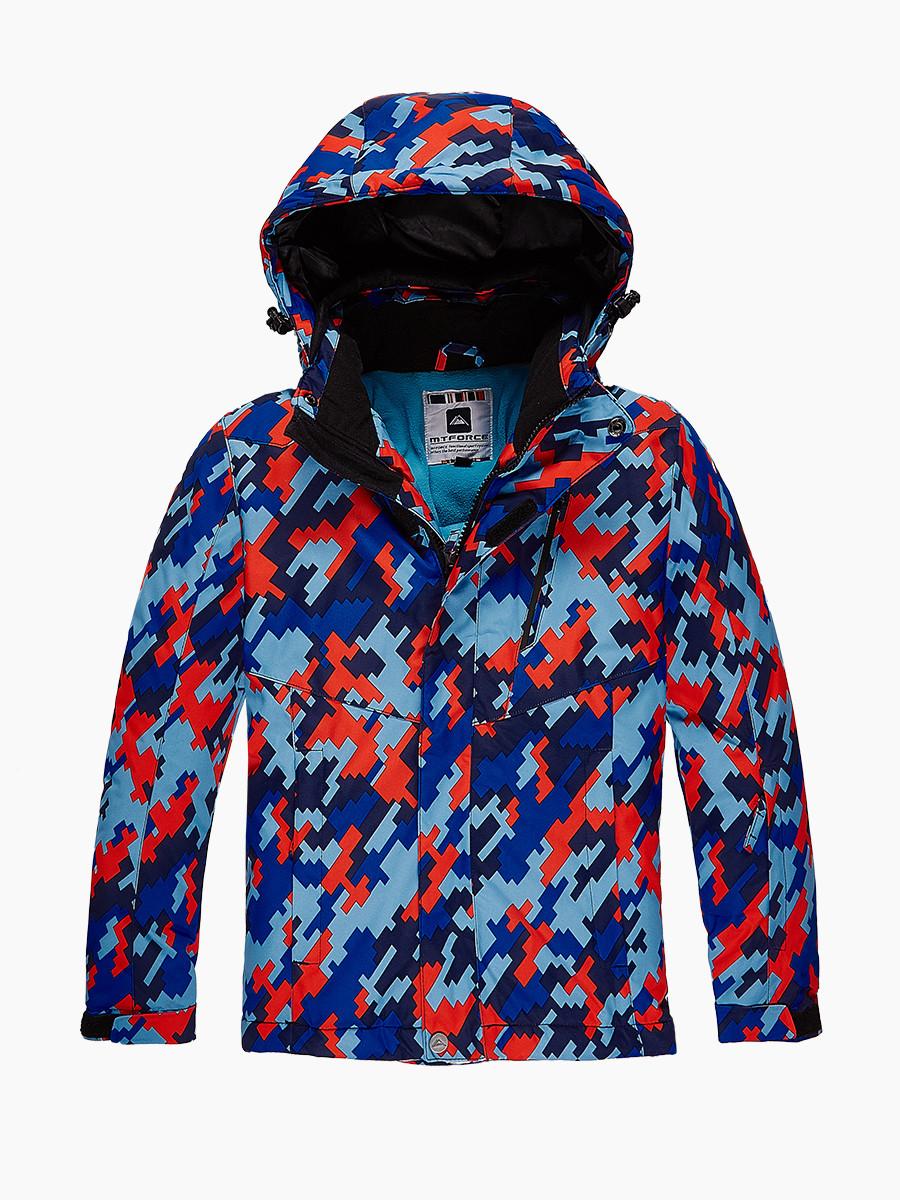 Купить Куртка горнолыжная подростковая для девочки красного цвета 1774Kr