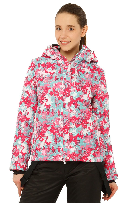 Купить Куртка горнолыжная женская розового цвета 1787R