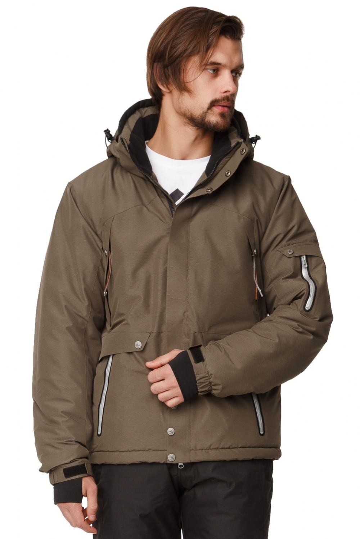 Купить Куртка горнолыжная мужская хаки цвета 1788Kh