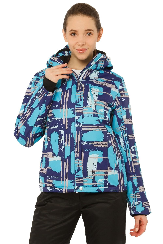 Купить Куртка горнолыжная женская фиолетового цвета 1801F