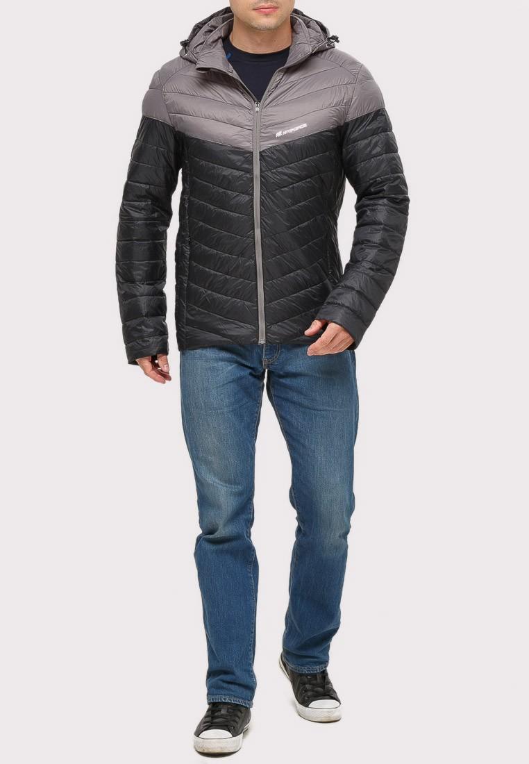 Купить Куртка мужская стеганная черного цвета 1853Ch
