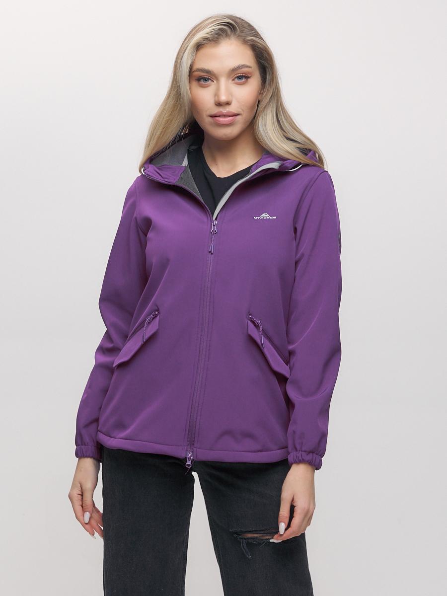 Купить Ветровка MTFORCE женская фиолетового цвета 20014-1F