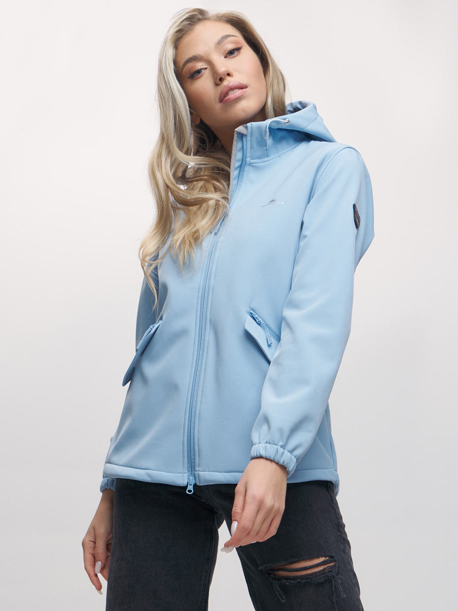 Купить Ветровка MTFORCE женская голубого цвета 20014-1Gl