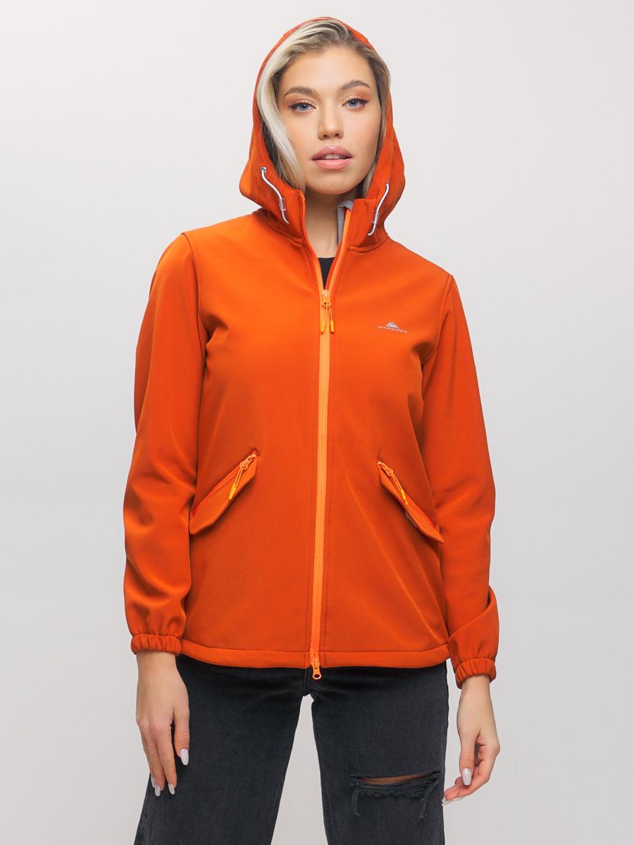 Купить Ветровка MTFORCE женская оранжевого цвета 20014-1O