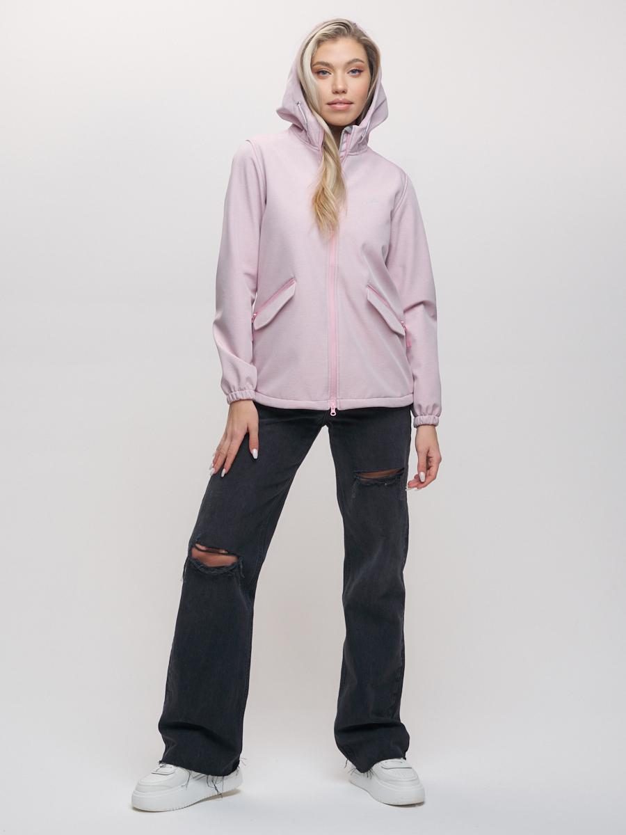 Купить Ветровка MTFORCE женская розового цвета 20014R