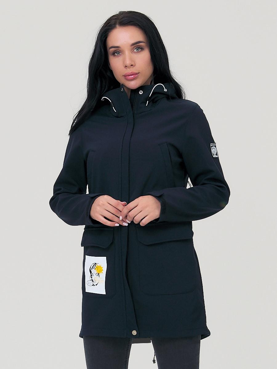 Купить Парка женская MTFORCE черного цвета 2027Ch