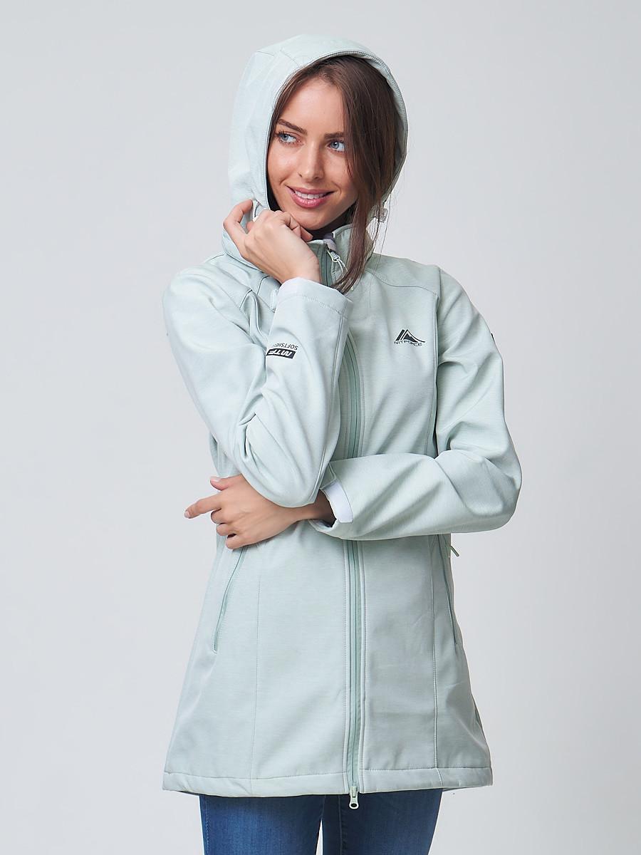 Купить Ветровка MTFORCE женская бирюзового цвета 2037Br