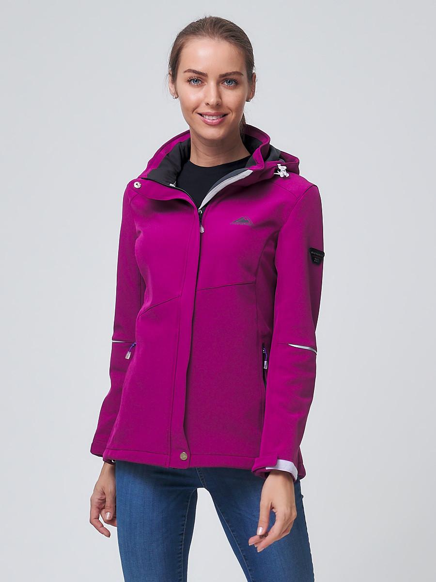 Купить Ветровка MTFORCE женская фиолетового цвета 2038F