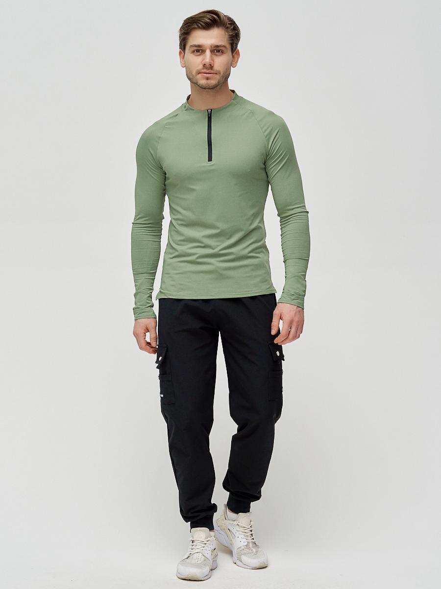 Купить Брюки спортивные мужские черного цвета 3002Ch