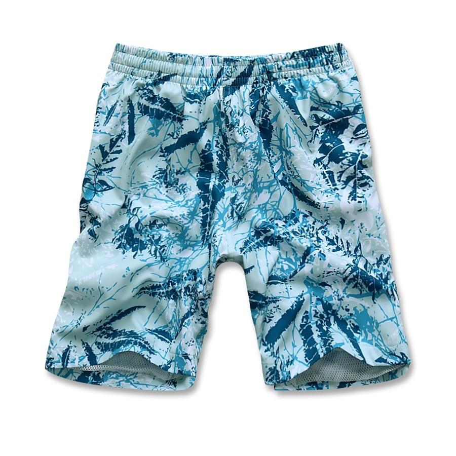Купить Спортивные шорты голубого цвета 4272Gl