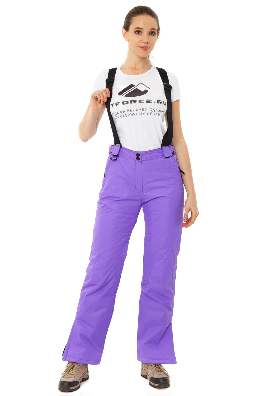 Купить Брюки горнолыжные женские фиолетового цвета 818F