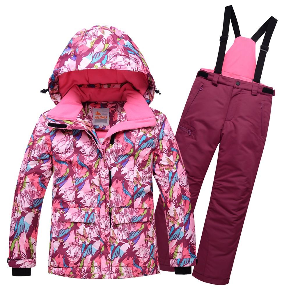 Купить Горнолыжный костюм подростковый для девочки розовый 8818R