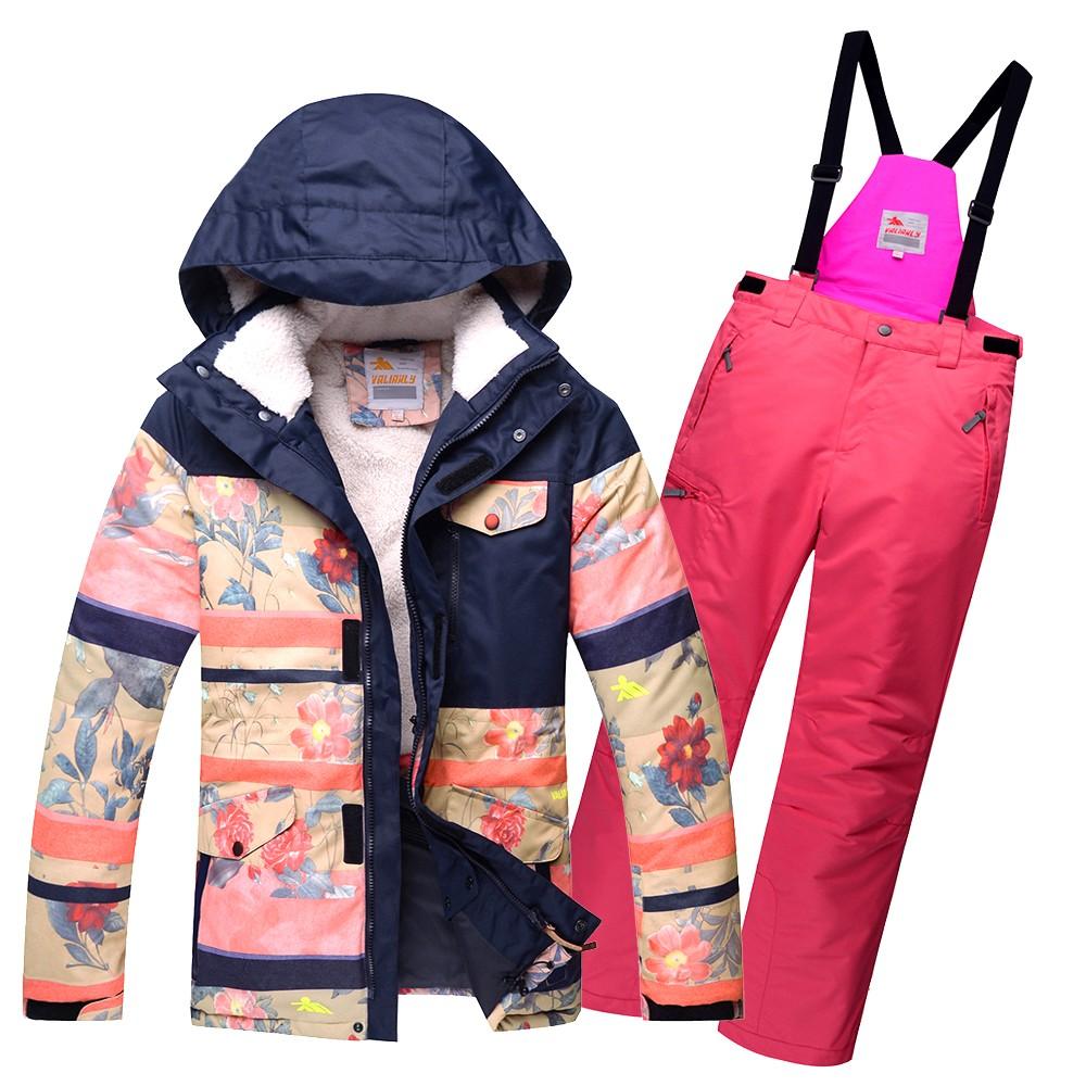 Купить Горнолыжный костюм подростковый для девочки розовый 8830R