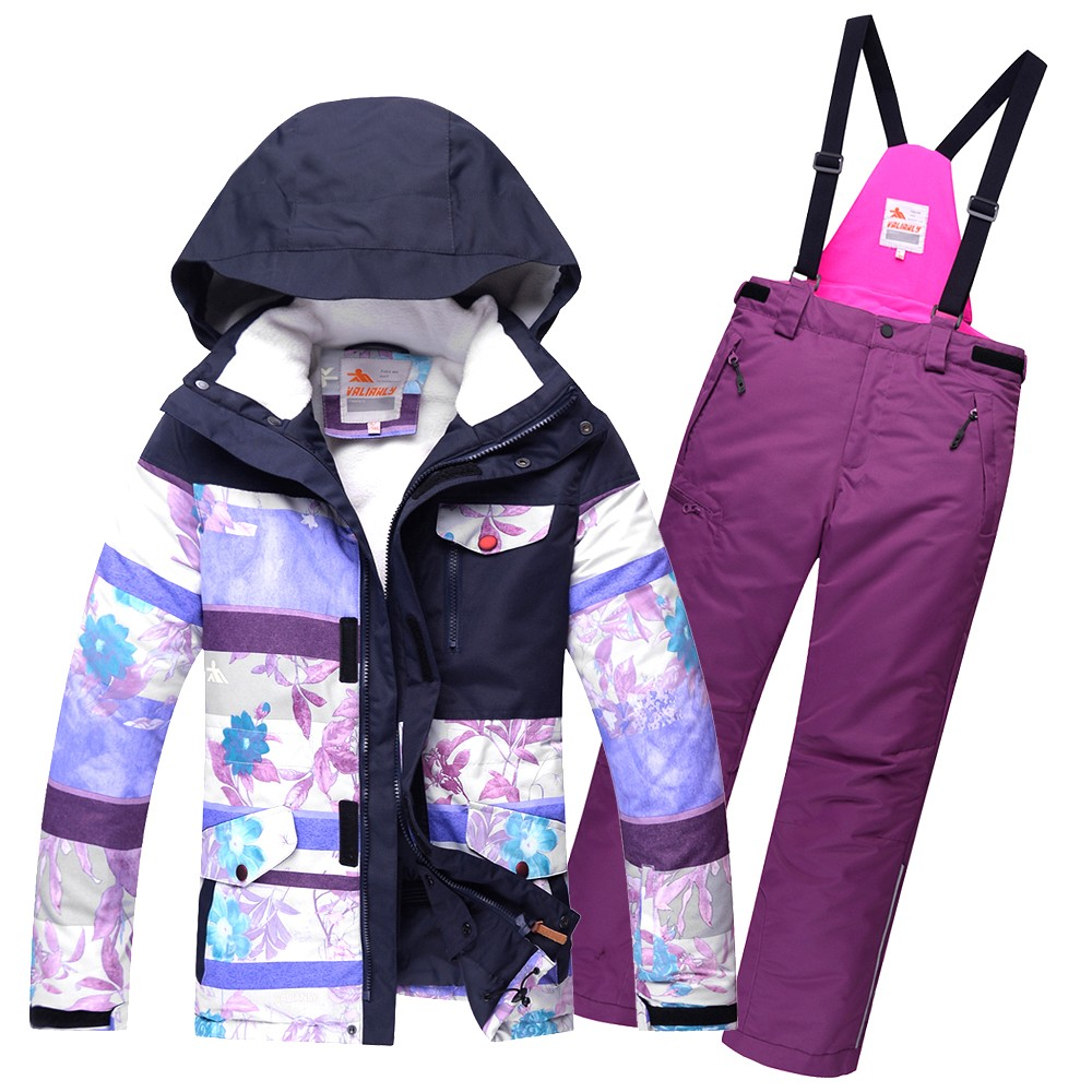 Купить Горнолыжный костюм подростковый для девочки фиолетовый 8830F