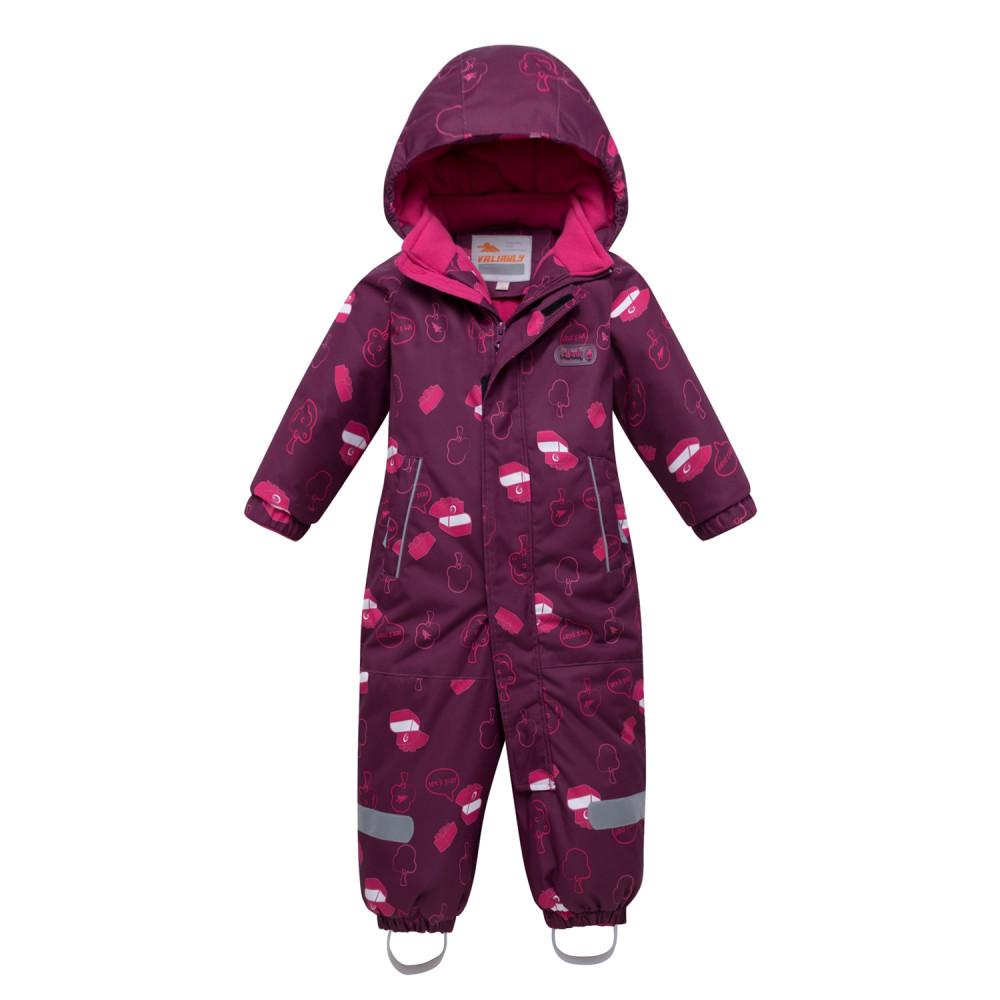 Купить Комбинезон детский малинового цвета 8904М
