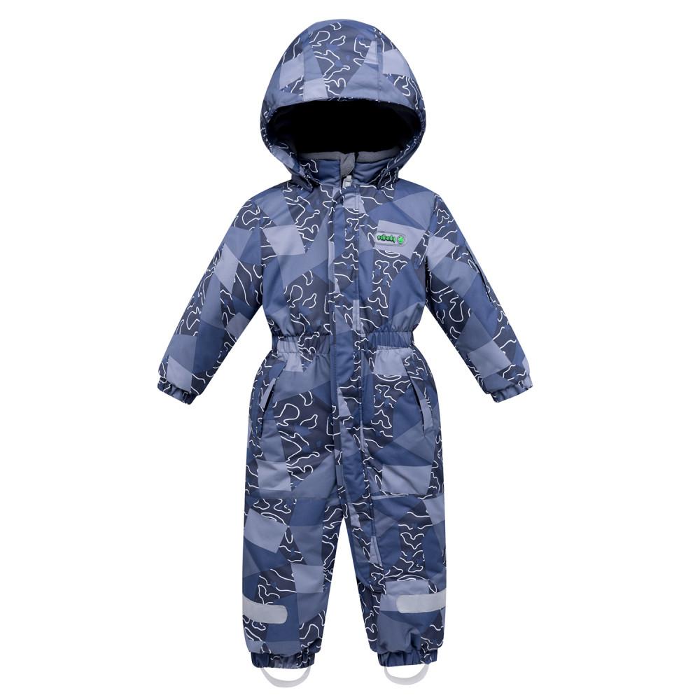 Купить Комбинезон детский синего цвета 8909S