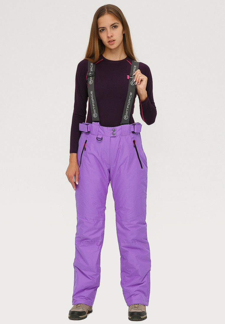 Купить Брюки горнолыжные женские фиолетового цвета 906F