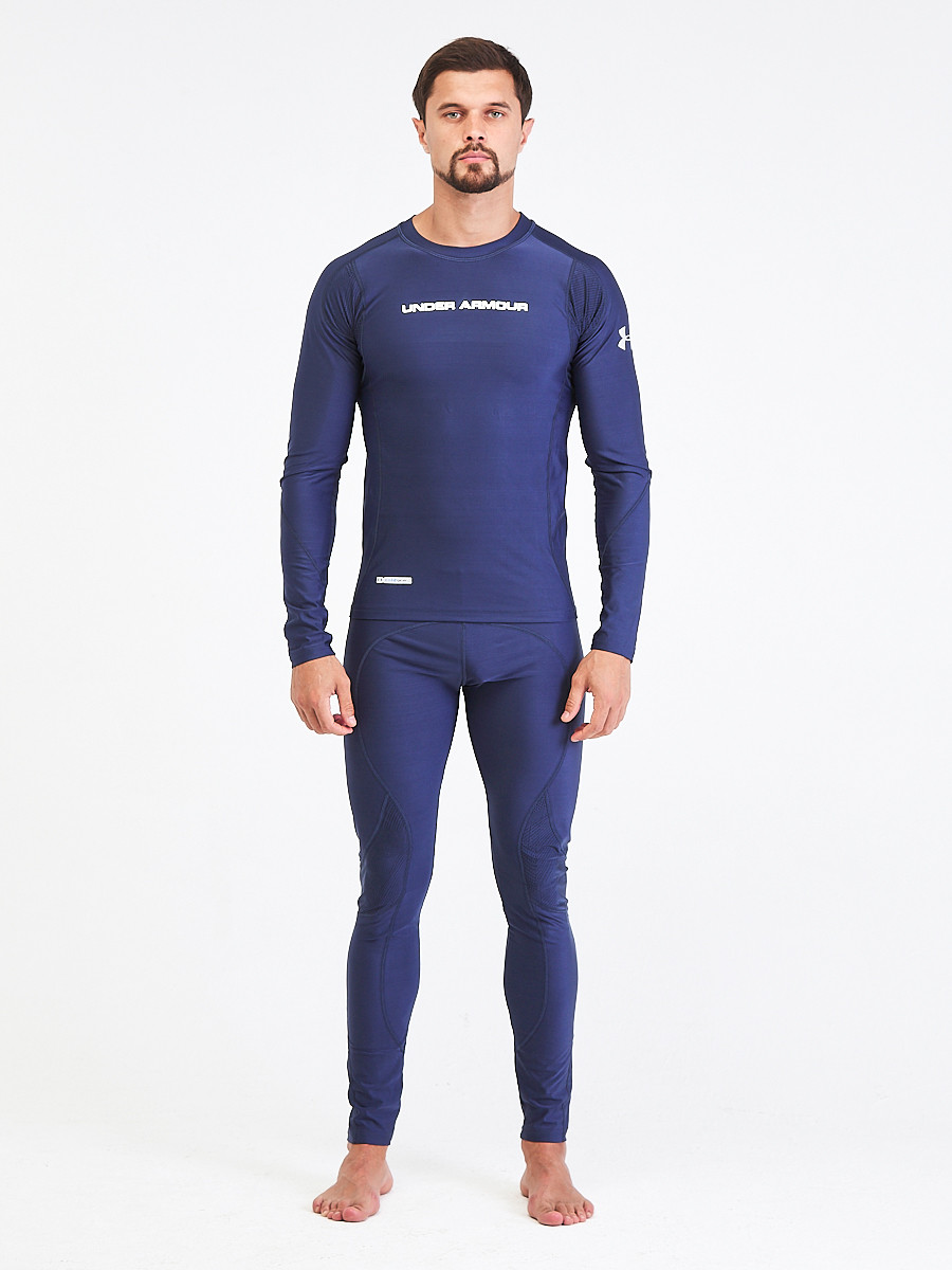 Купить Термобелье мужское темно-синего цвета 9178TS