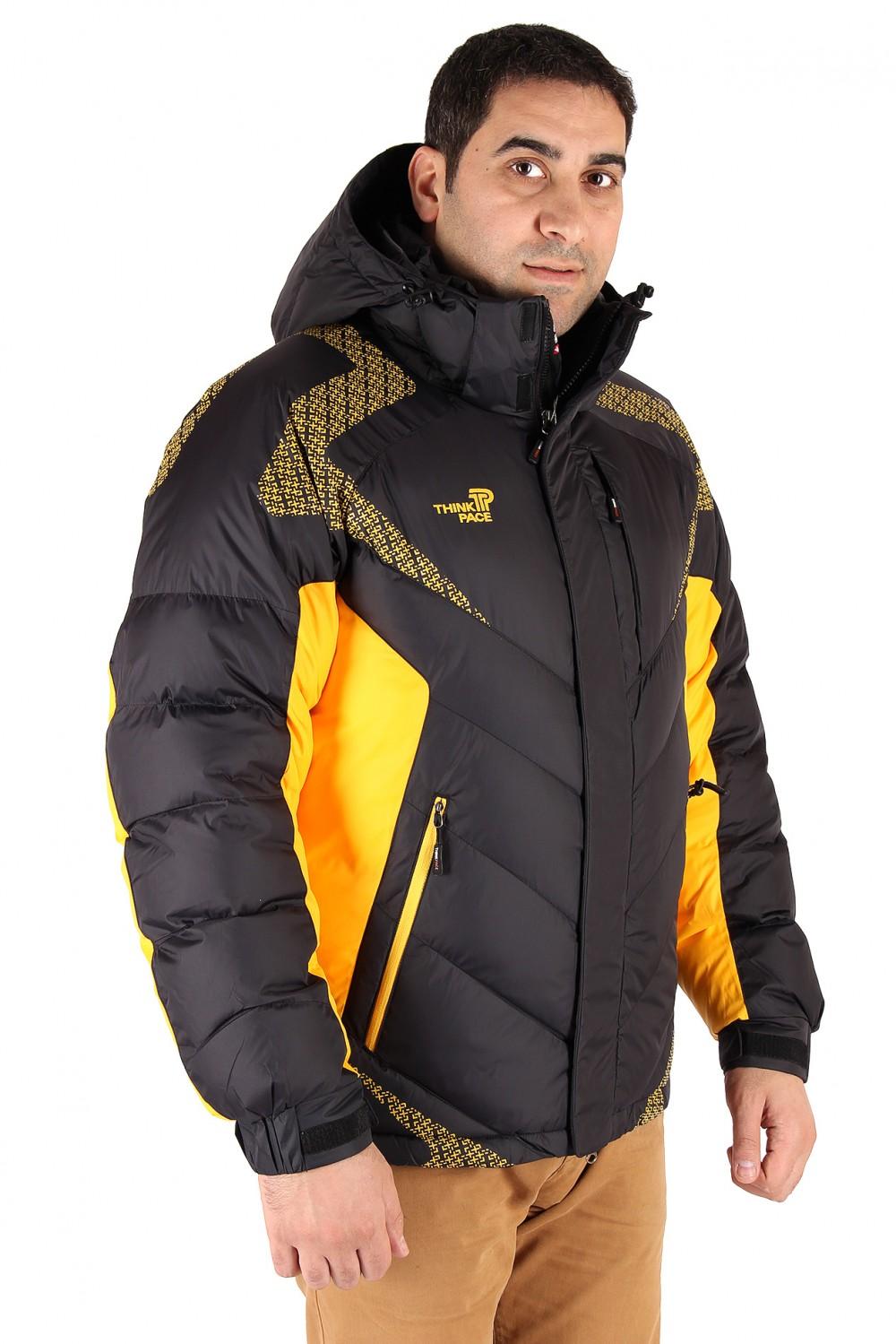 Купить Куртка зимняя мужская черного цвета 9421Ch