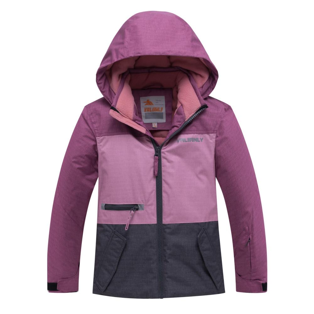Купить Горнолыжный костюм подростковый для девочки фиолетового 8932F