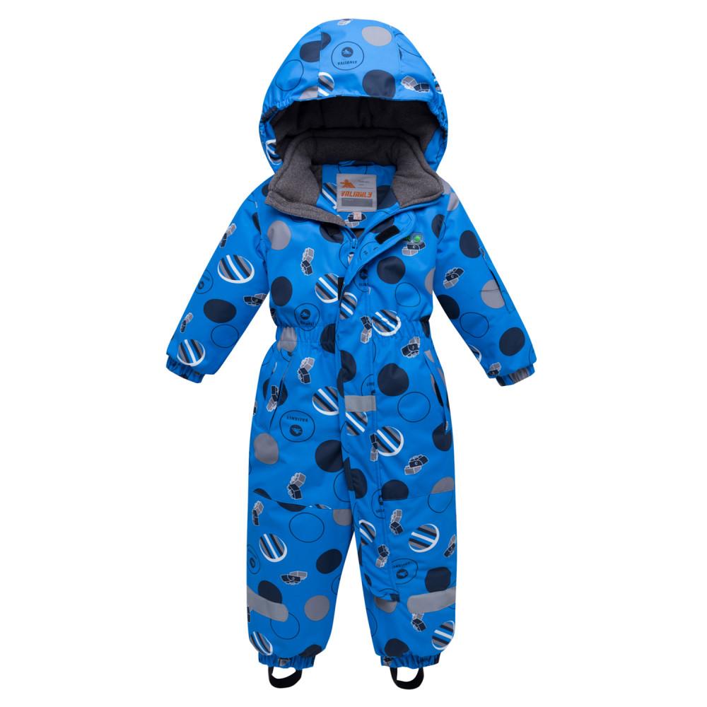 Купить Комбинезон для мальчика зимний синего цвета 8905S