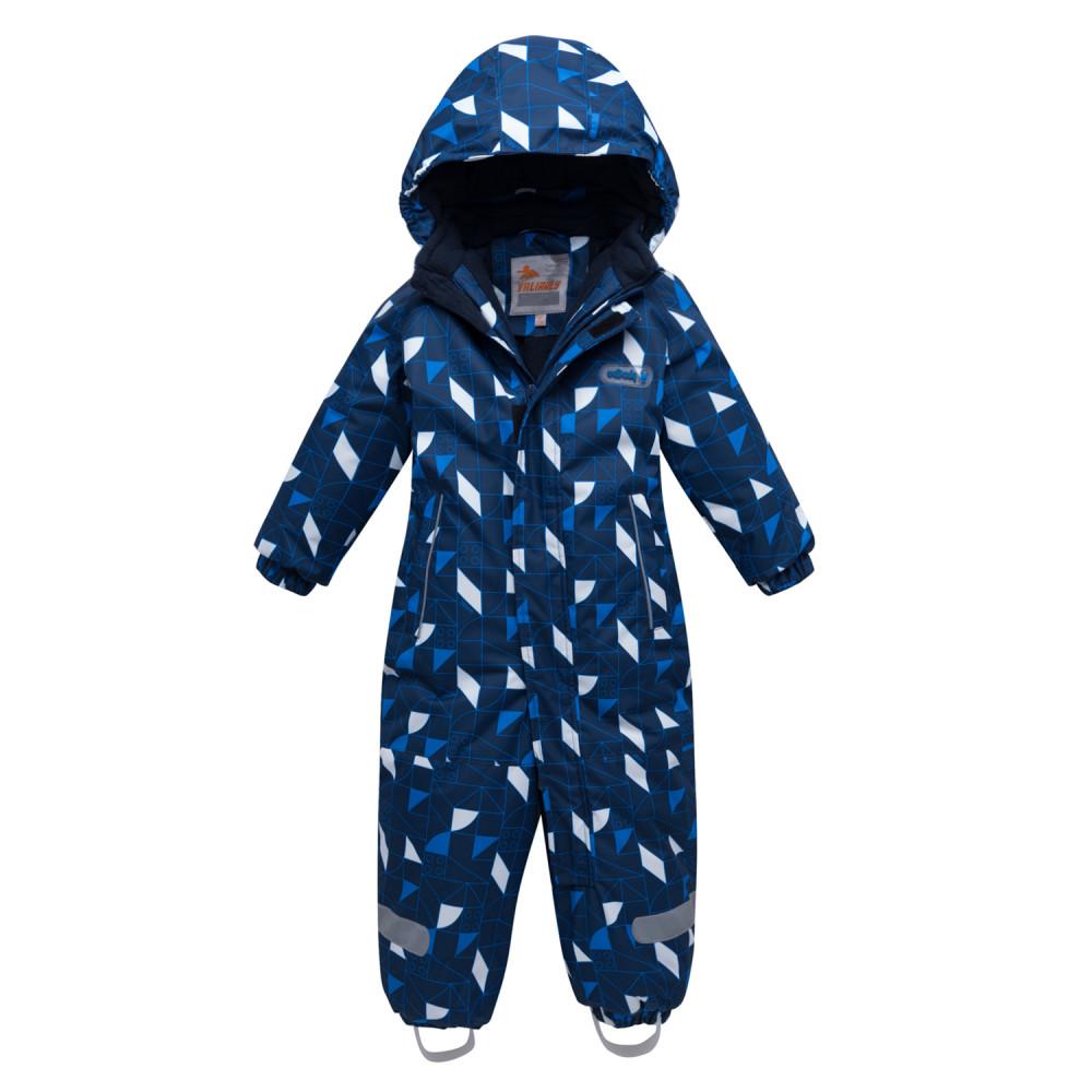 Купить Комбинезон детский темно-синего цвета 8901TS