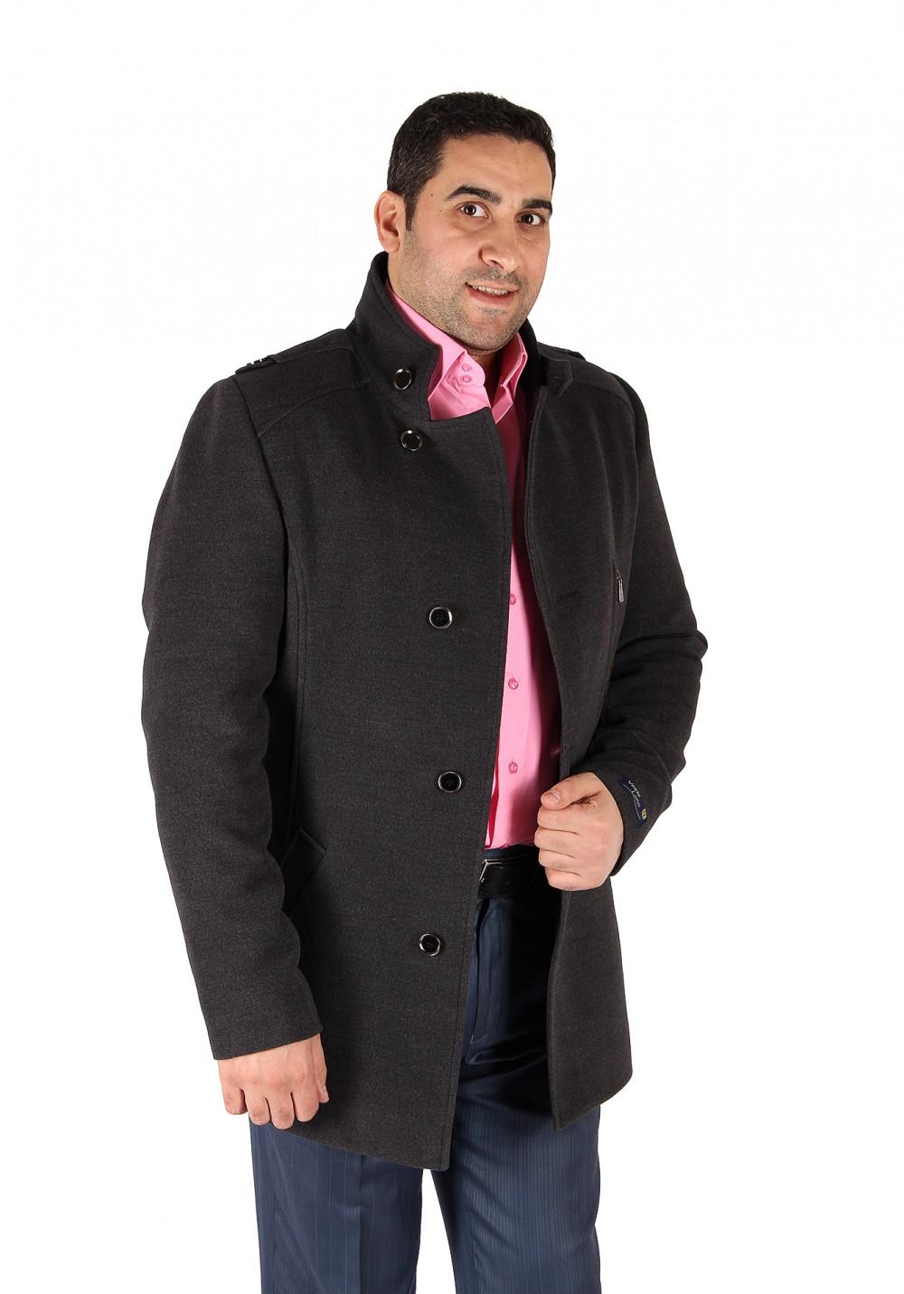 Купить Полупальто мужское серого цвета Кс-25Sr